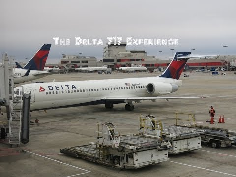 The Delta Airlines Boeing 717 Flight Experience