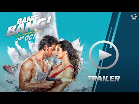 Bang Bang (2014) Official Trailer | Hrithik Roshan | Katrina Kaif | 2nd October 2014