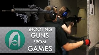 Shooting Guns from Games - Beretta M9 and FN SCAR