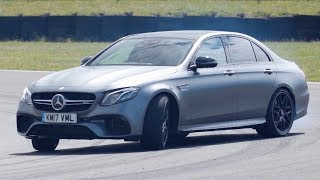 Mercedes-AMG E63 S - Chris Harris Drives - Top Gear. Watch online.