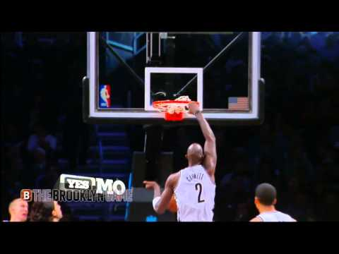 Kevin Garnett Monster Putback Slam | Nets vs Pacers