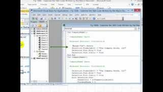 How To Examine & Edit The VBA Code For A Recorded Macro