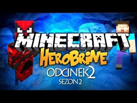 Minecraft Herobrine - STARCIE Z MUTANTEM, COPS AND ROBBERS - SEZON 2 [#2]
