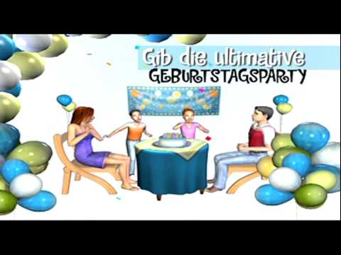 die sims 2 party accessoires trailer deutsch youtube. Black Bedroom Furniture Sets. Home Design Ideas