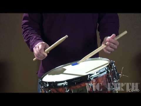 Vic Firth Rudiment Lessons: Multiple Bounce Roll
