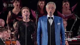 """Landmarks Live In Concert: Andrea Bocelli At The Palazzo Vecchio - """"Time To Say Goodbye"""""""