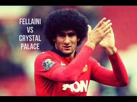 Marouane Fellaini vs Crystal Palace HD 720 ★