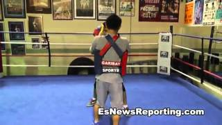 BOXING| Brian Viloria Training With Marvin Somodio