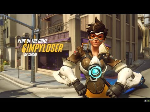 [Overwatch] Tracer Gameplay