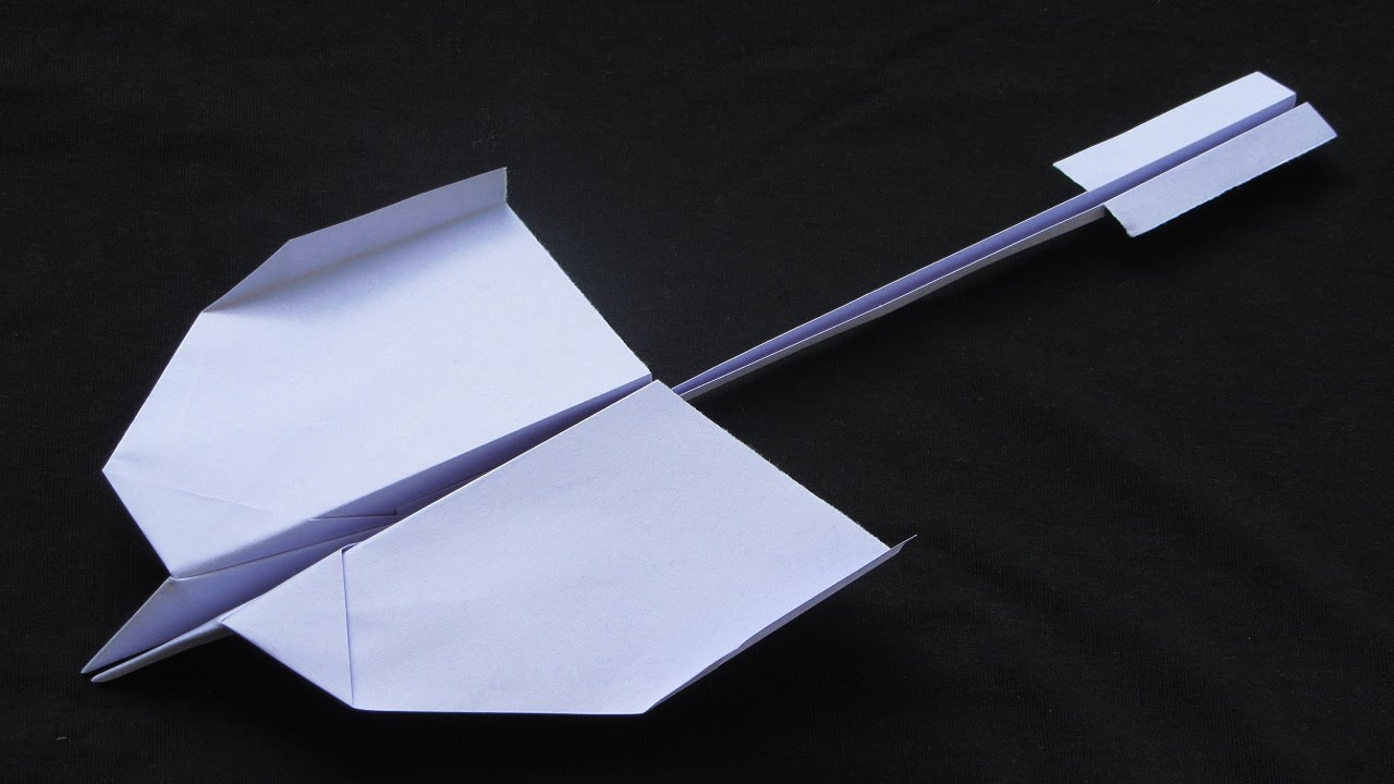 paper airplane designs that fly farHow To Make Cool Paper Airplanes