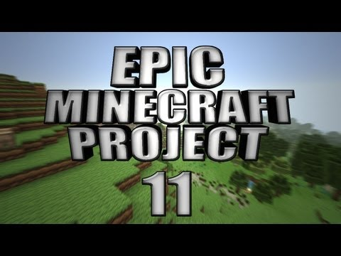 EPIC MINECRAFT PROJECT - Part 11: Creeper Hole