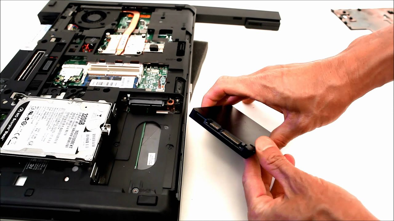 how to replace a hard drive in a desktop
