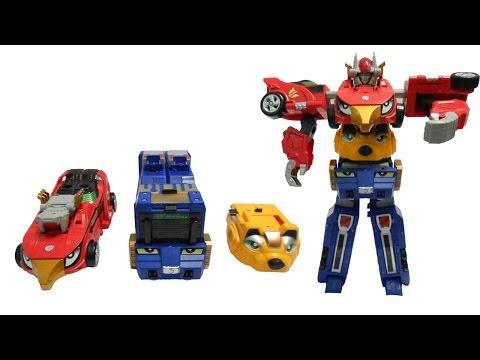 Lắp ráp robot siêu nhân xe hơi biến hình