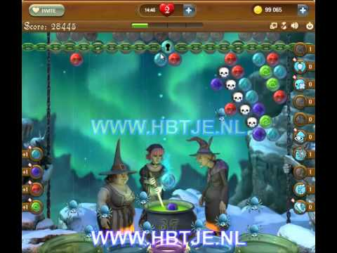 Bubble Witch Saga level 154