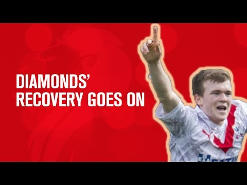 Diamonds' recovery continues | Airdrie 3-0 Ayr United