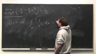 Worldwide Calculus: Improper Integrals