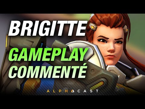 Commentary dans le feu de l'action avec Brigitte ! ► Overwatch FR