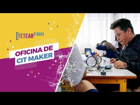 Oficina de CIT Maker - Tetear Tech 2019 - Vídeo 1