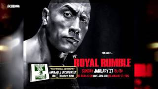 "WWE Royal Rumble 2013 Theme Song ""What Makes A Good Man"