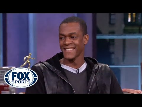 Rajon Rondo drops by Crowd Goes Wild