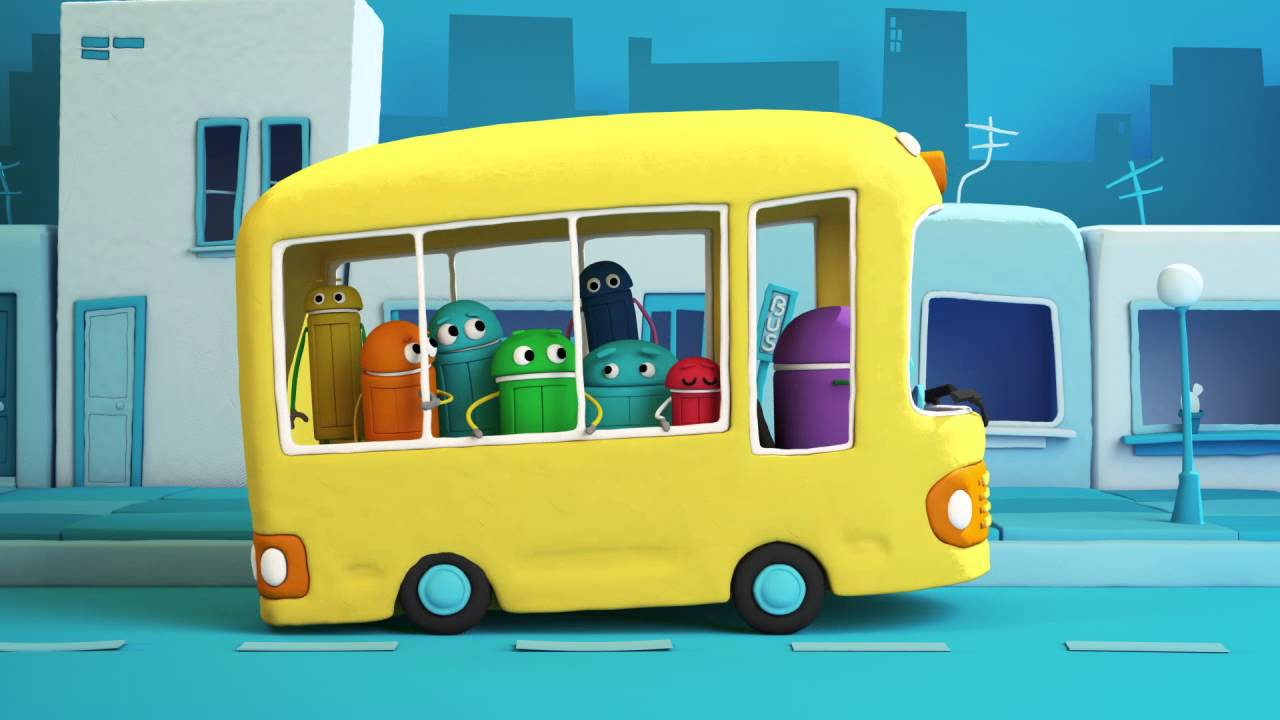 quotthe wheels on the busquot classic songs by storybots youtube