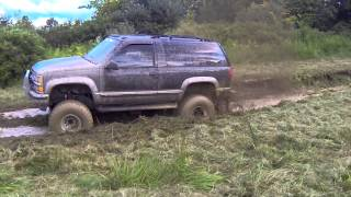 Chevy Tahoe Mudding