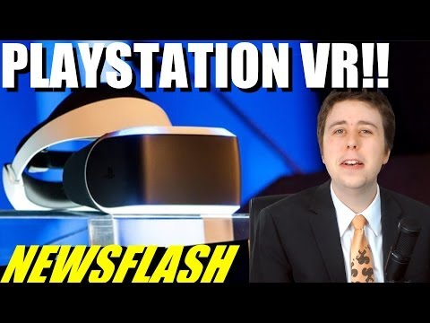 Sony Announces Project Morpheus VR Headset!! - NEWSFLASH