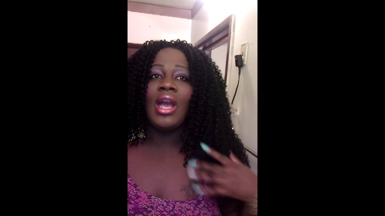 Crochet Braids Using Freetress Hair : Crochet braids using freetress hair - YouTube