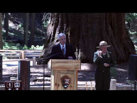 Congressman Tom McClintock Speaks at the Yosemite 150th Anniversary Celebration