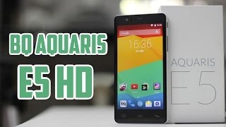 BQ Aquaris E5 HD, Review En Español
