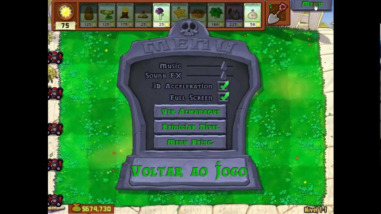 plants vs zombies cheat engine 6.1 - YouTube