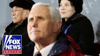 Pence works to prevent North Korea hijacking the Olympics