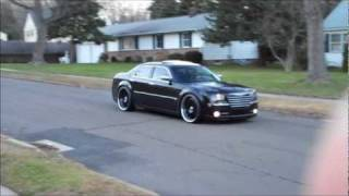 Chrysler 300c 24s Black On Black