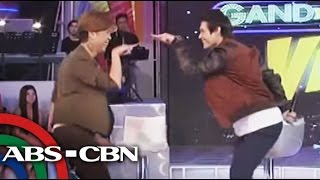 Enrique Gil Dances To 'Whoops Kiri'