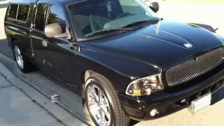 2000 V8 Dodge Dakota Extended Cab Burnout videos