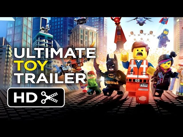 The LEGO Movie Ultimate Toy Trailer (2014) - Animation Movie HD