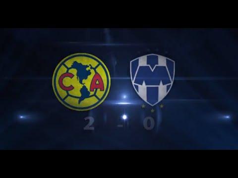 Goles del partido América 2-0 Monterrey J13 Liga MX