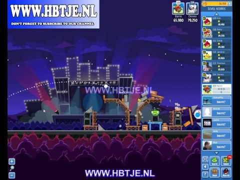 Angry Birds Friends Tournament Level 6 Week 70 (Tournament 6) Rock in Rio no power-ups