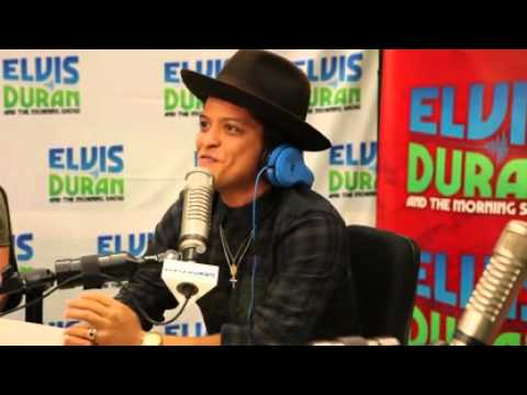 Bruno Mars Interview with Elvis Duran
