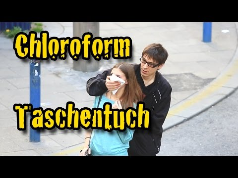 Chloroform Prank - echt Fett