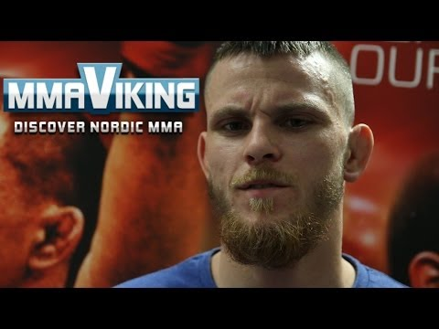Niklas Bäckström UFC Berlin Post Fight Scrum