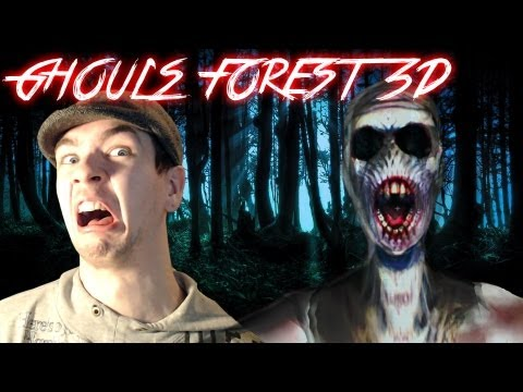 Ghoul's Forest 3D | LET ME WIN!! | Indie Horror Game - Commentary/Face cam reaction