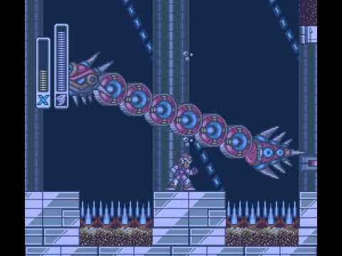 Mega Man X - Launch Octopus Stage - User video
