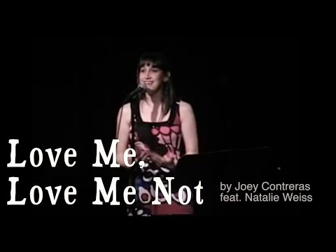 Natalie Weiss sings Love Me, Love Me Not (Live at Arts Bank Cabaret) - 5/15/09