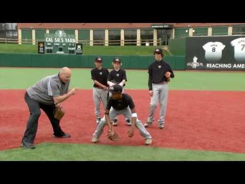 Ripken Baseball Fielding Tip - Fielding a Ground Ball