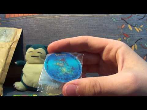 Unboxing Pokemon Tazo Walklers UK tazo pogs and box - Hikomikos