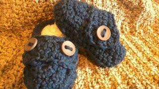 Tutorial Monday! How To Crochet Baby Boy Booties! (part 1