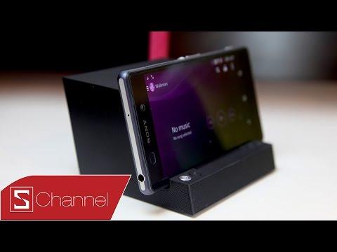 Mở hộp, đánh giá dock sạc kiêm loa di động Sony BSC10