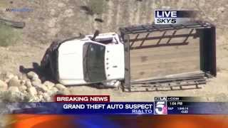 Police Pursuit Bank Robbery Suspect GTA Pursuit SoCal