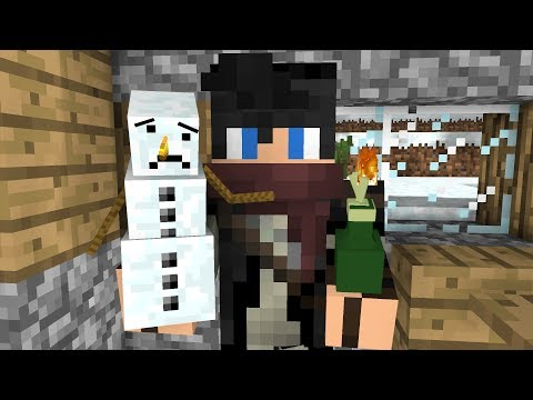 Snowman Life  Minecraft Animation